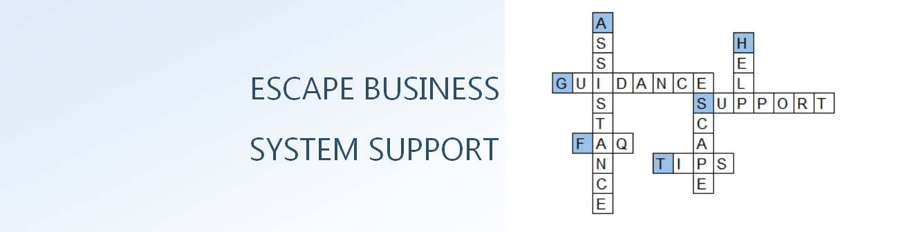ESCAPE BUSINESS SYSTEM SUPPORT