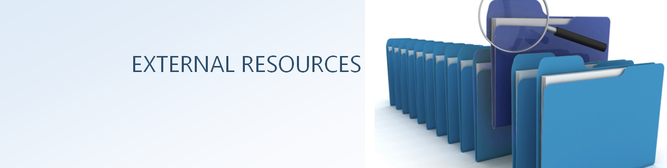 EXTERNAL RESOURCES
