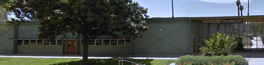 Balboa Middle School (photo courtesy: Google)