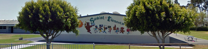 Sunkist Elementary (photo courtesy: Google)