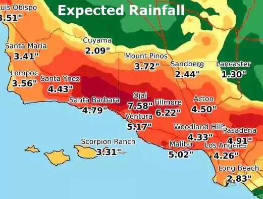 Major Storm Impacting Some Ventura County Schools