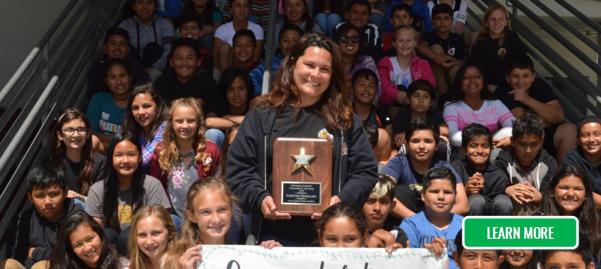 The 2018 Ventura County Teacher of the Year