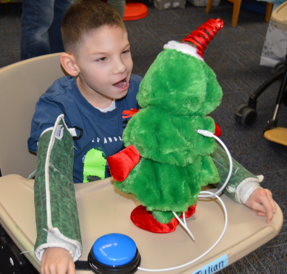 Navy Engineers Modify Toys for Kids with Special Needs