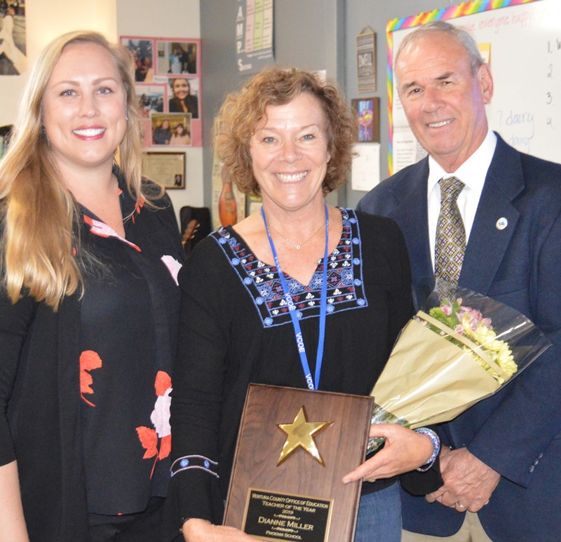 Dianne Miller is Teacher of the Year for VCOE Schools