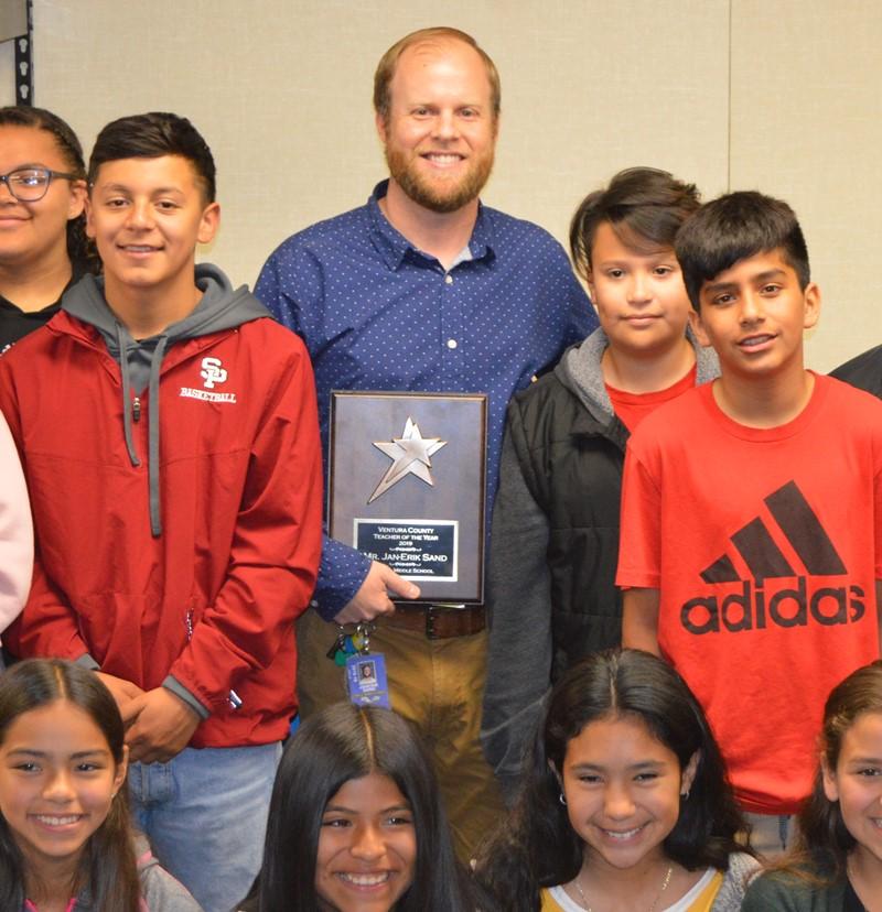 Meet the Former Marine Named Ventura County Teacher of the Year