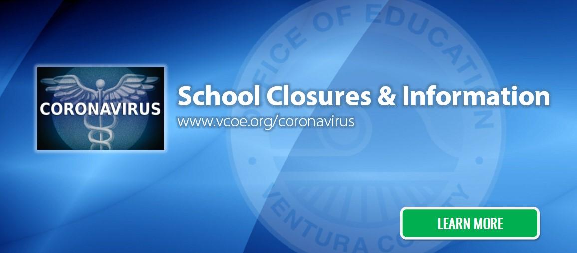 Coronavirus School Closures and Information