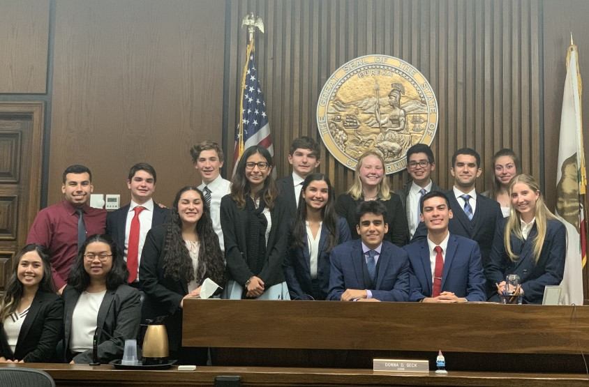 St. Bonaventure Wins 2020 Ventura County Mock Trial