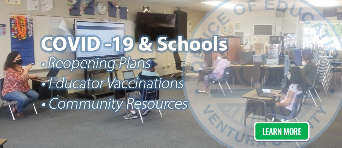 COVID-19 and Ventura County Schools