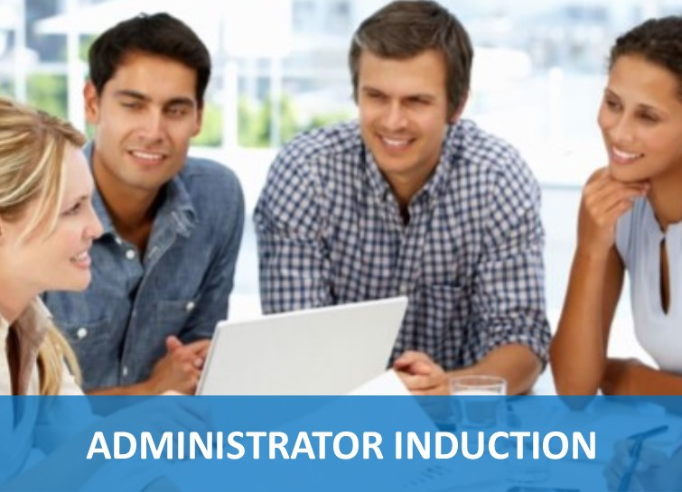 Administrator Induction Button
